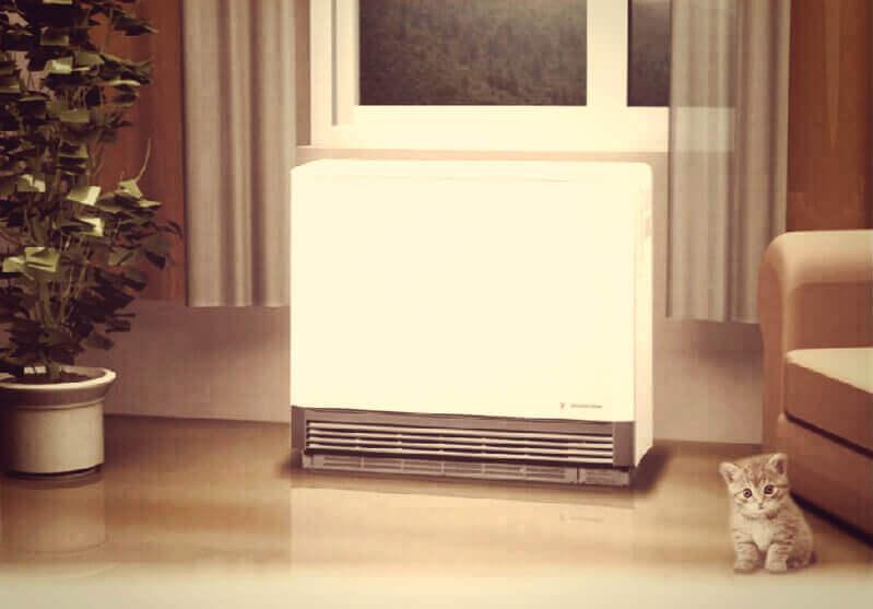 отопление электро-батареей